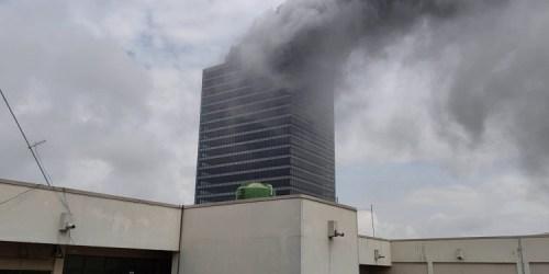 Fire guts Abuja's World Trade Centre
