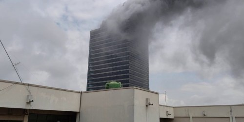 Fire guts Abuja's World Trade Centre
