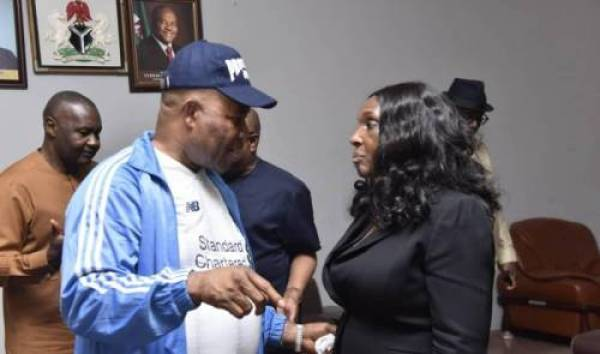 Alleged sexual harassment: Akpabio threatens to sue ex-NDDC MD, Nunieh