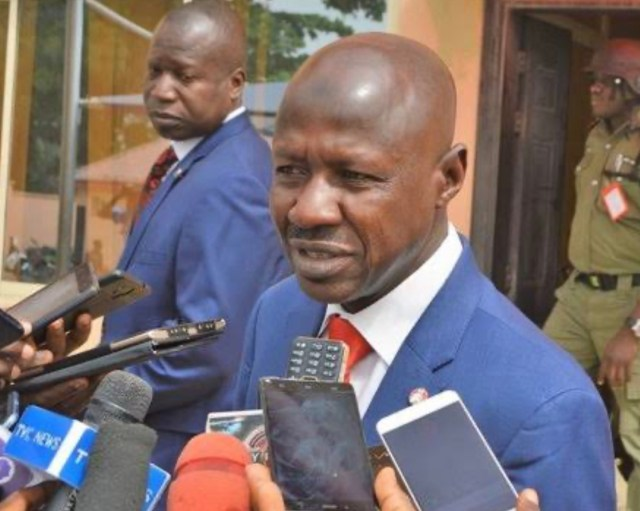 EFCC probe: Presidency flushes out 'Magu boys', returns them to Police Hqtrs
