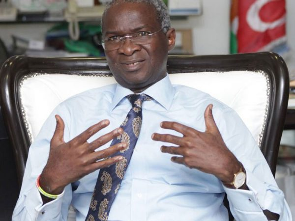 FG will support developmental initiatives of states — Fashola
