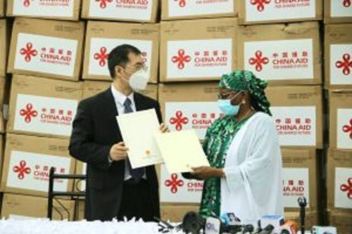 COVID-19: Chinese First Lady donates Medical equipment to Nigeria's First lady