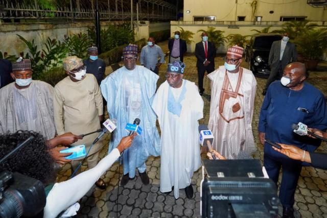 APC reconciliation: Buni, members caretaker c'ttee in closed door meeting with Tinubu