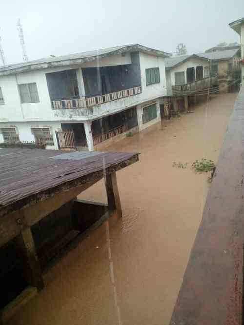 Flood takes over Abeokuta roads, as residents count loses