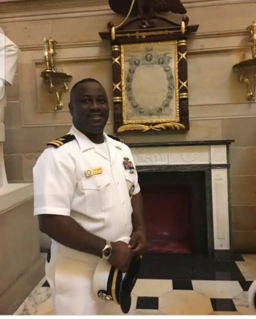 NIDCOM Chairman congratulates Agunbiade's exemplary conduct in US Navy