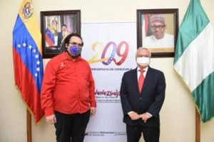 Venezuela to strengthen bilateral ties with Nigeria on security, other sectors