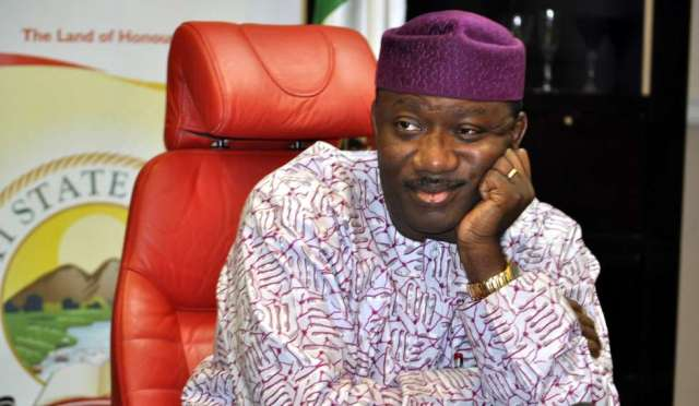 Just In: APC suspends Governor Fayemi