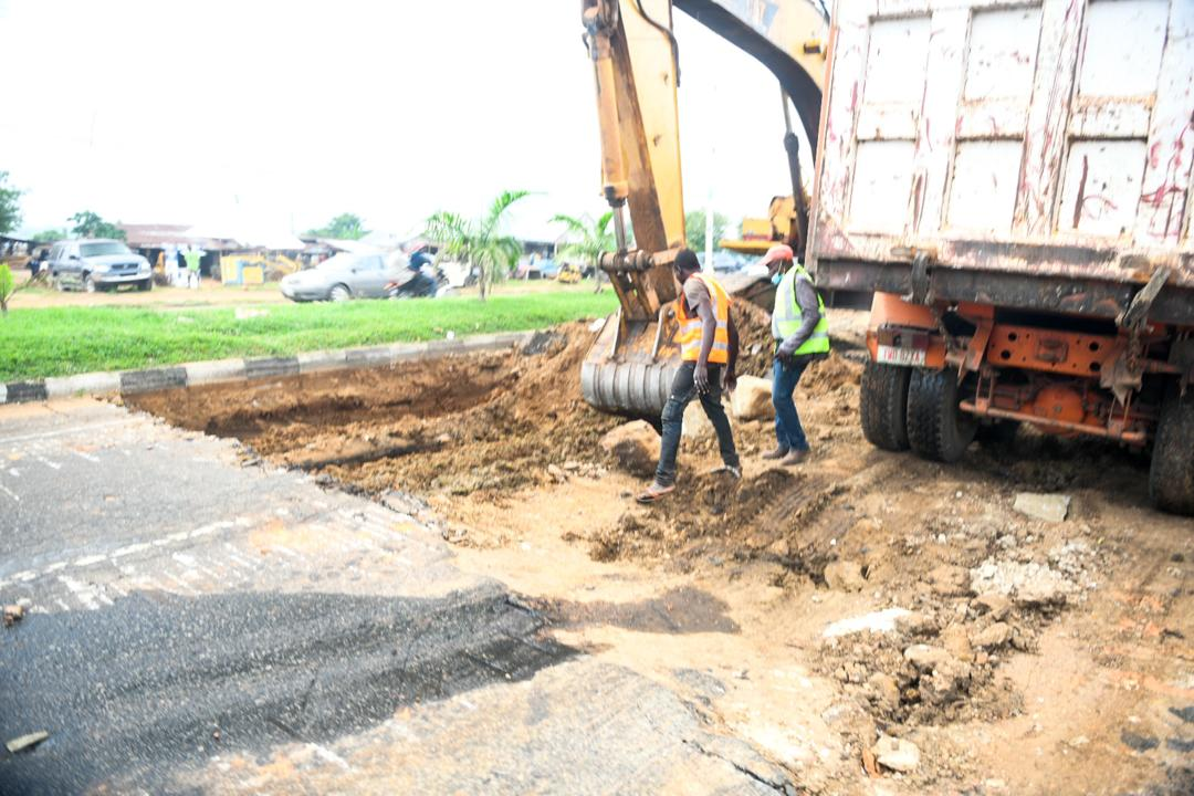 Niger State Govt launched rehabilitation of Minna City Gate ...