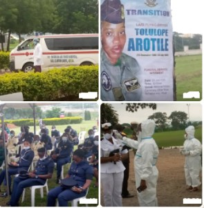 Burial of Late Flying Officer Tolulope set to commence in Abuja