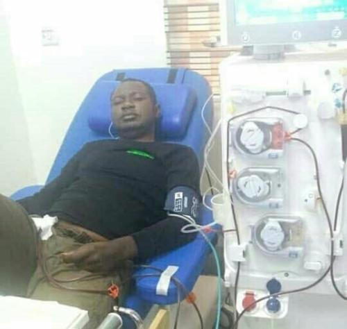 Man diagnosed with chronic kidney disease begs Nigerians for N15m for transplant