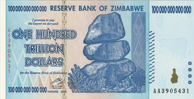 COVID-19 effect: Zimbabwe dollar now 63.7442 to US dollar