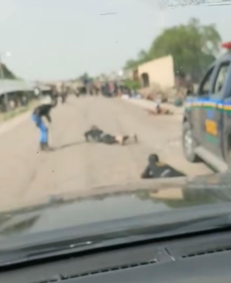 FULL VIDEO: Boko Haram attacks Borno State Gov's convoy - Vanguard