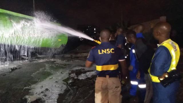 2470f90b 7869 4ed3 b0ec 8640c2480e17 Fire guts Guinness warehouse in Lagos