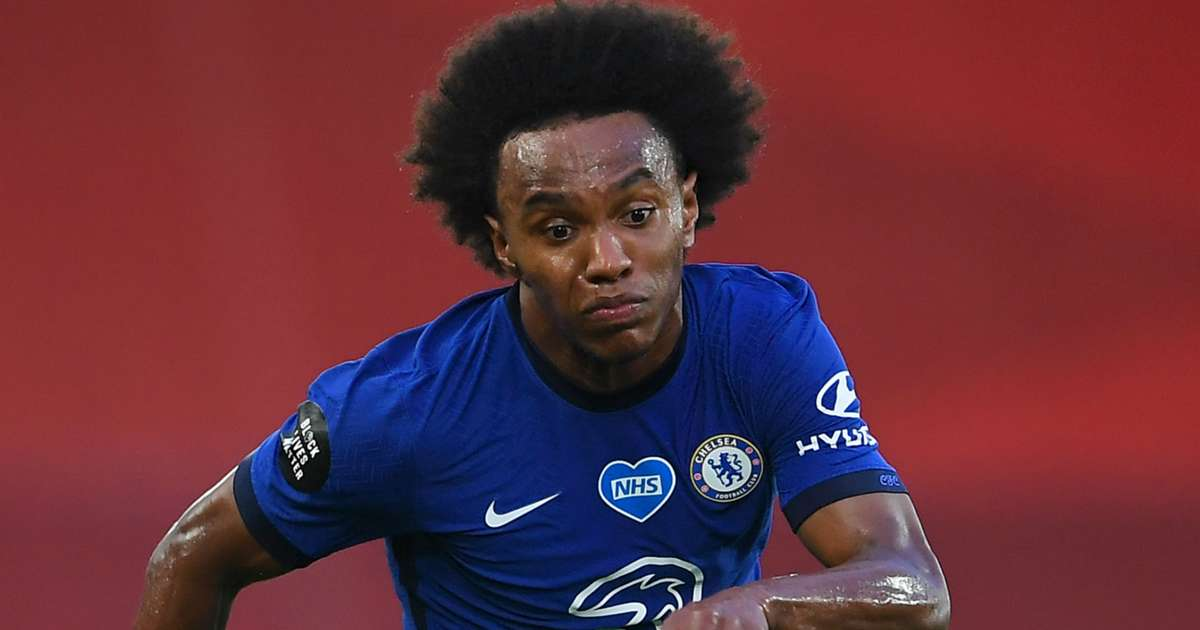 Bound Willian posts farewell message to Chelsea fans