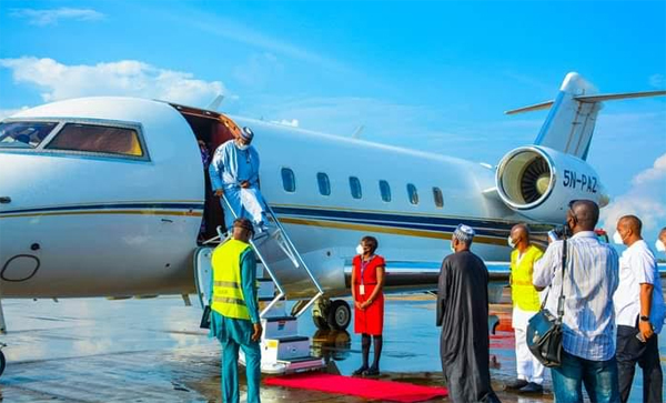 Arthur Eze emerges first to land on reoponed Enugu Airport