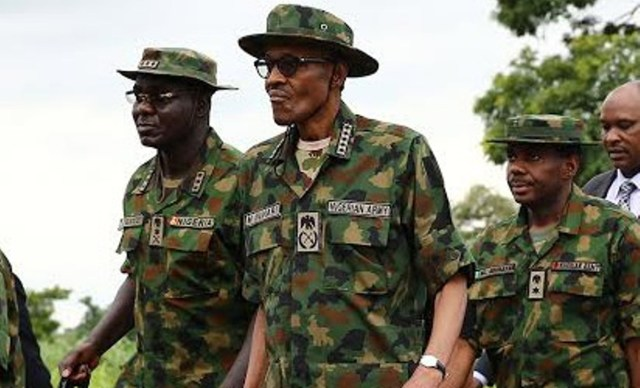 Buhari restates confidence in Nigerian Army, assures of more support