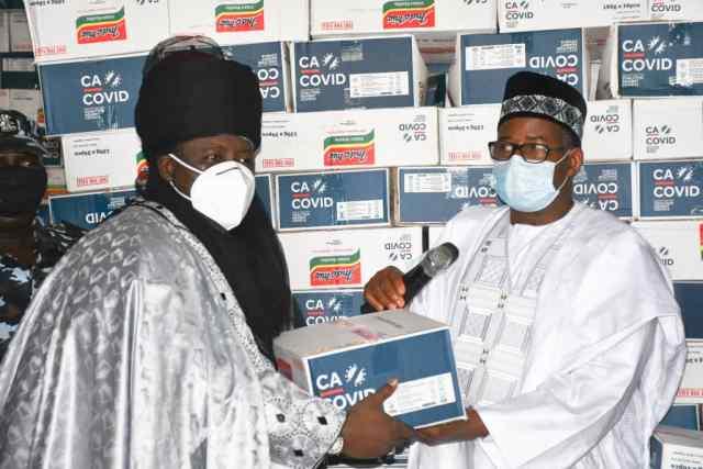 COVID-19: Bauchi distributes palliatives, warns against diversion