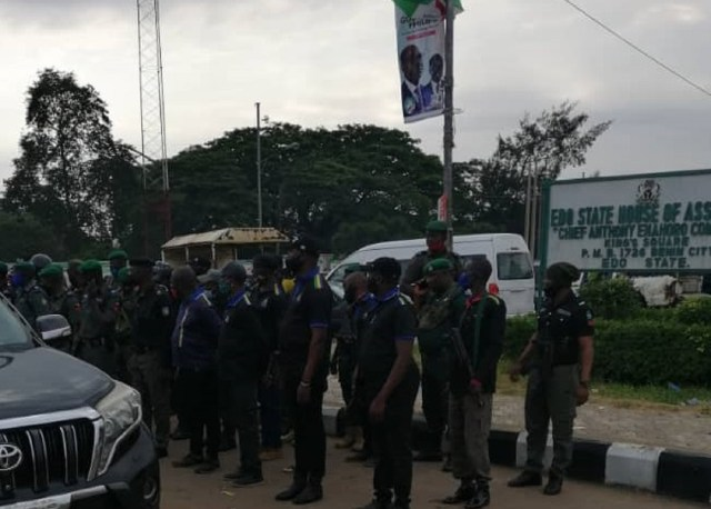 Police take over Edo Assembly