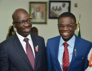 No clash between Obaseki, his deputy, Shaibu — Gov's spokesman