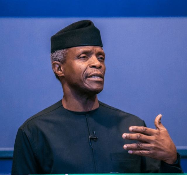 FG collaborating with investors to improve Nigeria's digital sector – Osinbajo