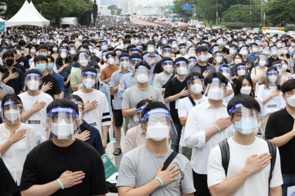 South Korean doctors strike over plan to boost medical student numbers