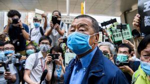 Hong Kong pro-democracy media mogul Jimmy Lai arrested