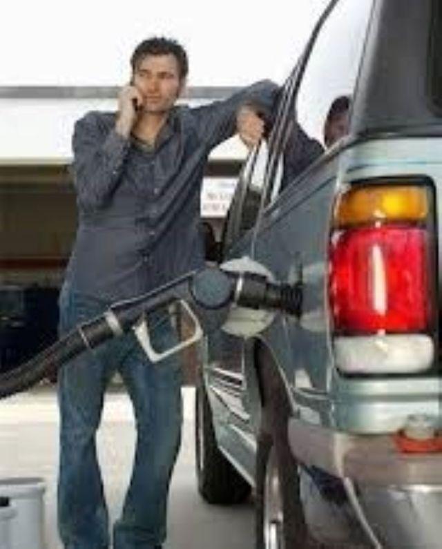 phones at petrol stations