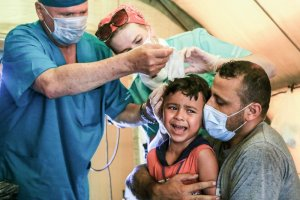 No ceiling, no windows: Beirut hospital staff recall blast