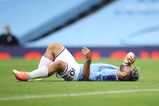 Aguero could be out of action until November ― Guardiola