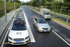 China opens 5G-covered road for testing self-driving cars