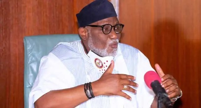Akeredolu donates office building to police zone