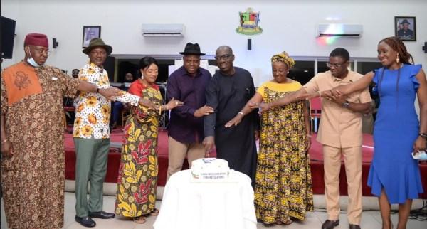 Obaseki, Shaibu hosted to victory dinner in Bayelsa