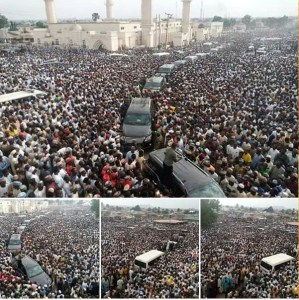 Anap Foundation calls for caution over crowd at Emir of Zazzau funeral