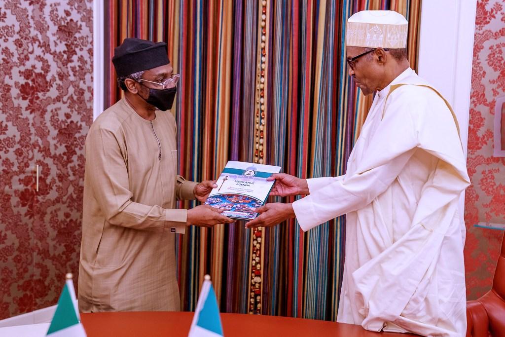 Gbajabiamila gets Buhari's blessings, leaves for Ghana
