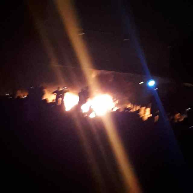BREAKING: Unspecified number of persons feared dead, two vehicles burnt in Friday night tanker explosion