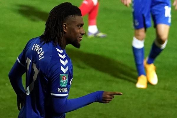 Iwobi scores as Everton thump Fleetwood 5-2