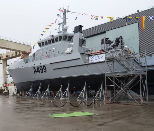 Nigerian Navy launches new hydrographic survey vessel