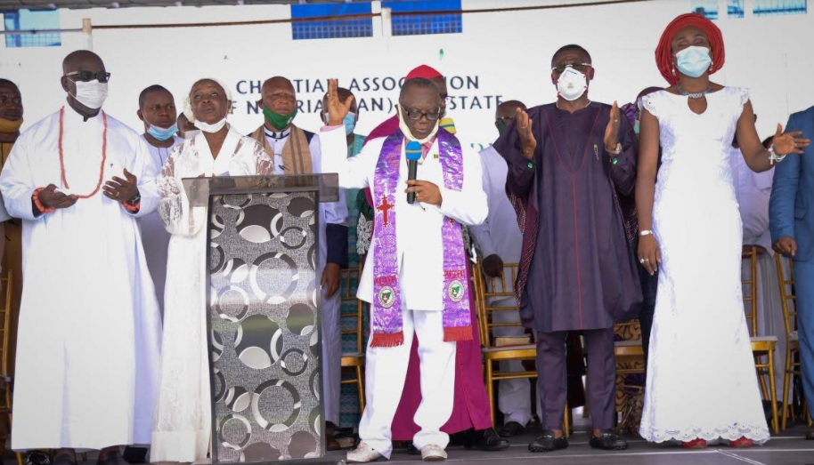 Obaseki's reelection is divine, says CAN Chair, Kure, at thanksgiving service
