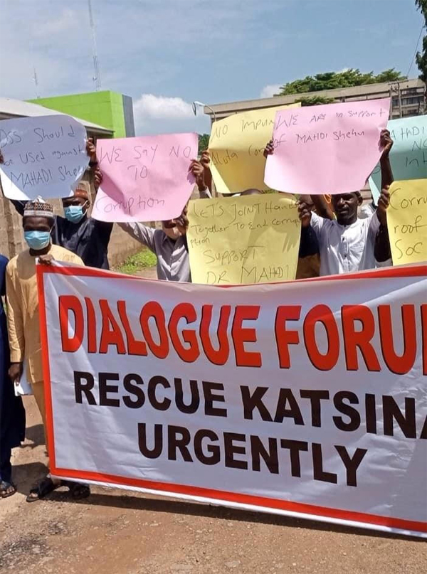 Activists protest alleged N52.6 billion fraud in Katsina - Vanguard