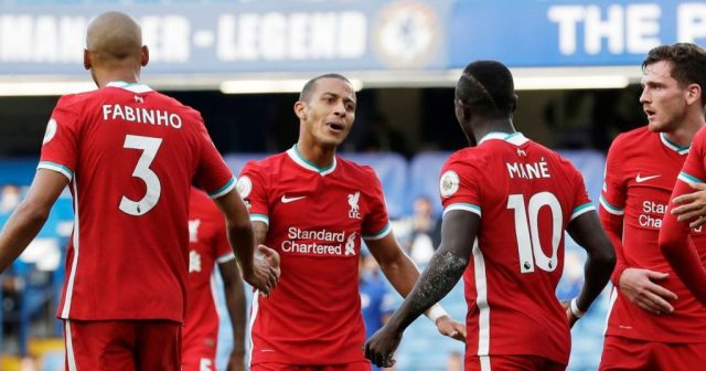 COVID-19: Thiago, Mane return for Liverpool just in time for crunch derby