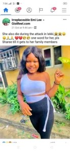 Lekki Shooting: I'm not dead! Lady cries out after seeing her RIP picture on social media