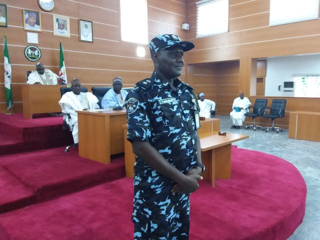 """) Borno House of Assembly on Thursday honoured the state Commander of defunct SARS, CSP Ibrahim Mohammed, with plague of honour for his gallantry in the fight against insurgency in the state.  The house at its Thursday plenary presided over by the Deputy Speaker, Alhaji Abdullahi Askira, said members of defunct FSARS in Borno under the leadership of Mohammed played vital role in the fight against insurgency and other violent crimes.  Leader of the House, Alhaji Dige Mohammed, who read the Mohammed's citation, recalled how he raided and repelled the insurgents' attacks in some local government areas.  """"On 21st of July 2020, the team had another encounter with the insurgents in large numbers at Mainok in Kaga LGA, after a fierce battle, dislodged the insurgents and recovered two gun trucks.  """"On 13 July 2020, another encounter ensued with Boko Haram who ambushed motorists along Auno -Jakana- Damaturu highway and recovered two anti aircraft guns with four spare barrels, one machine gun with 251 ammunitions, eight AK 47 and two magazines.  """"On 14th July 2020, SARS rescued two soldiers abducted by Boko Haram fighters along Maiduguri-Damaturu road and recovered several arms abandoned by the terrorists,"""" the house leader said.  Reacting, Mohammed lauded the house and the people of Borno for the honour, which he said was a good commendation for the police, particularly members of his team at this critical period of protests.  """"I am still a policeman and will continue to discharge my duty in the fight against crime,"""" Mohammed said. (NAN)"""