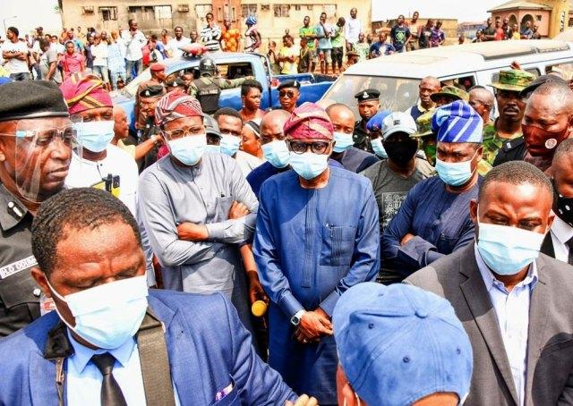 Sanwo-Olu talks tough over ethnic clash, rampaging hoodlums
