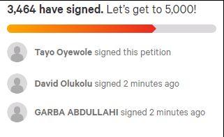 SARS petition
