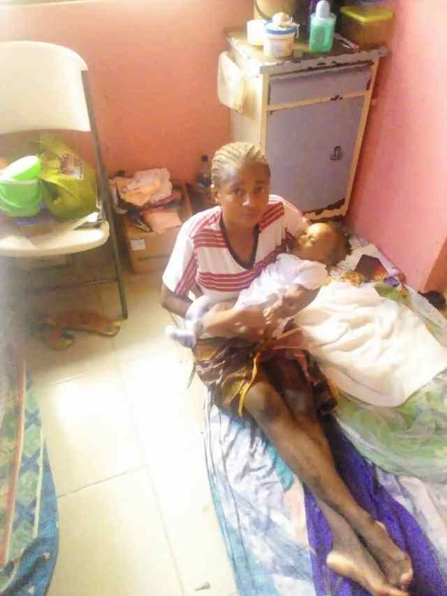 Unable to offset bill, woman sleeps on hospital floor with her newborn