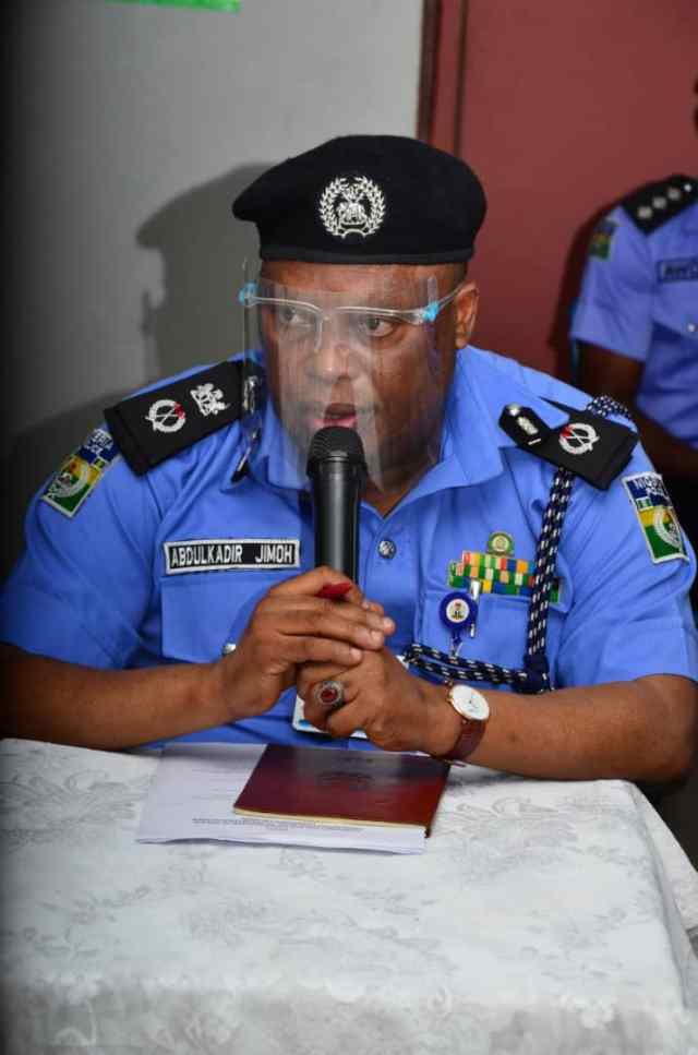 Only 7 suspects escaped from police custody in Calabar ― CP Jimoh