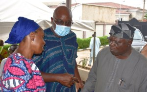 In pictures, condolence visit at late Revd Tola Oyediran's resident