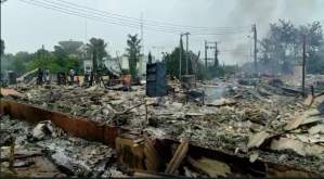 BREAKING:Ondo SUBEB, State Radio- Vision offices gutted by fire