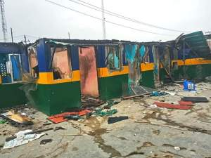 Igando-Ikotun LCDA boss inspects vandalised sites
