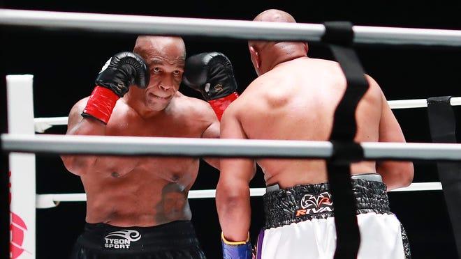 KO Steals Show In Tyson vs Jones Jr